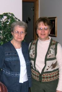Mom and I on Mother\'s Day