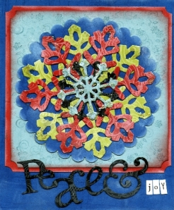 made with Big Shot and diecuts, spellbinders dies, stamping, and stickles